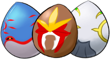 Legendary Pokémon Eggs