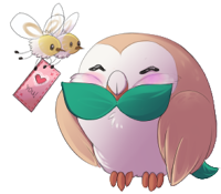 Rowlett and Cutiefly on Valetine's Day