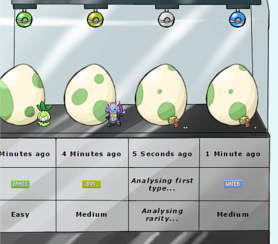 Pokémon Lab Eggs